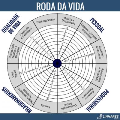 Roda da Vida - COACHING ESPORTIVO - Linhares Coach